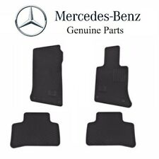 Mercedes GLK250 GLK350 10-15 Black Rubber All Season Floor Mats Genuine Q6680695