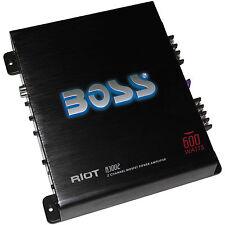 BOSS R3002 RIOT 600 Watt 2 Ch MOSFET Amplifier