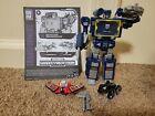 Transformers Netflix Soundwave Ravage Laserbeak Walmart Exclusive WFC Cybertron
