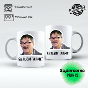 Personalised FRIDAY NIGHT DINNER - Jim Shalom Any Name Coffee Tea Mug Gift Funny