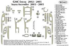 GMC ENVOY 2002 2003 2004 2005 DASH TRIM KIT d