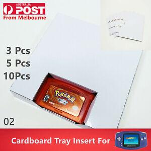 Cardboard Box Art Insert For Nintendo Gameboy Advance & GBA SP Game Insert