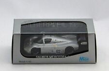 SAUBER MERCEDES C9 #62 SILVERPFEIL 1989 LIMITED EDITION SCALA 1/43 MODELS MAX