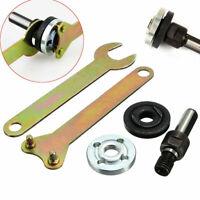 10mm Arbor Mandrel Drill Adaptor For Grinder Cut Off Wheels Disc Shank Tool