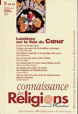 revue: CONNAISSANCE DES RELIGIONS - 57-58-59 - 1999
