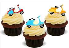 Vespa Scooter Mix Stand Up Premium Card Cake Toppers