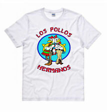 T-SHIRT MAGLIA LOS POLLOS HERMANOS BREAKING BAD FUNNY CULT MOVIES FILM