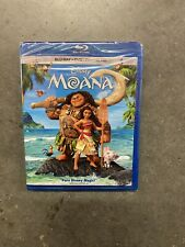 Moana (Blu-ray/DVD, 2017, 2-Disc Set, Includes Digital Copy) Brand New