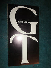 1969 OPEL GT SALES BOCHURE / ORIGINAL DEALERSHIP FOLDER!
