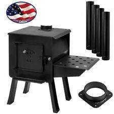 "BLACKBEAR"" Portable Camp/Cook Wood Stove Kit"