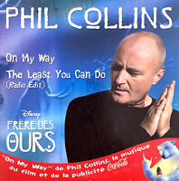 Phil Collins ‎CD Single On My Way - France (EX/M)