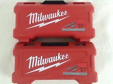 New Milwaukee 48-32-1551 42 Pc. Magnetic Screw Driver Driving Bit Set (2 Pack)