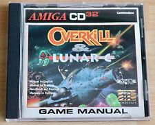 Overkill & lunar-C/amiga/Commodore cd³²/2 cd-rom de juegos