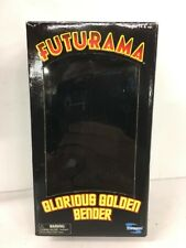 BOX ONLY Futurama Glorious Golden Bender Toynami 2006 SDCC Exclusive RARE