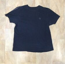 Mens Red Herring Debenhams Navy Blue Short Sleeve Cotton T Shirt Size M