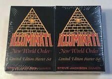 Illuminati New World Order sealed Limited Edition Starter Set 1994 INWO CCG