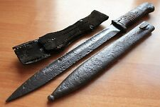 WW2 Original Battlefield Relic !!! German Mauser k98 Battle Knife & Scabbard !!!