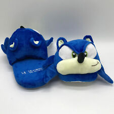 Sonic The Hedgehog Plush Slippers Shoes Soft Toy 26cm US Size 6~8