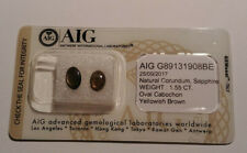 Natural Sapphire 1.55ct +AIG Certification