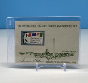 Vintage Sixth International Philatelic Exhibition, Washington D.C. Comm. Stamp