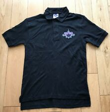 DEEP PURPLE EUROPE CONCERT 2008 EMBROIDERED POLO SHIRT SMALL NEW