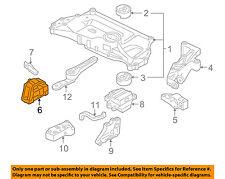 VW VOLKSWAGEN OEM 05-14 Jetta-Engine Motor Mount/Torque Strut 1J0199262DA