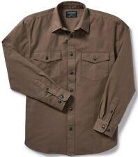 Filson Kodiak Chamois Shirt Mushroom 100% Cotton, Men's L MSRP $145