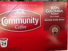 Keurig K-Cups Community Coffee 100% Colombian Altura Medium-Dark Roast 24 Cup