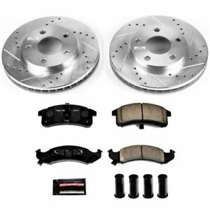 PowerStop K1534 Z23 EvolutionSport Brake Upgrade Kit NEW