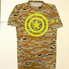 Ua Under Armour Alter Ego Captain America Compression Shirt 3Xl 2Xl Marvel Camo
