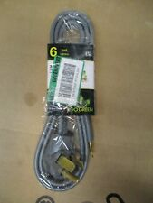 GOGREEN POWER 6' 3-WIRE DRYER CORD GRAY GG-27106  BRAND NEW FAST / FREE SHIPPING