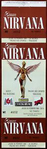 Nirvana In Utero Tour Palais des Sports, Toulouse 10 Feb 1994 Unused Ticket