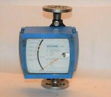 Krohne H250rrm9k2 34 Stainless Steel Variable Area Flowmeter K 156