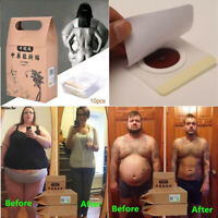 10Pc Fat Strongest Weight Loss Slimming Trim Slim Patch Pads Detox Adhesive Body