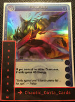 FRAFDO THE HERO - CHAOTIC CARD - SUPER RARE - TCG/CCG - RANDOM STATS - N/MINT