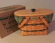 Longaberger 1997 Traditions Collection Fellowship Basket Full Combo w/Box