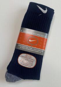 VTG Nike Anti Odor / Itch Tri-Blend Crew Socks 90's - NOS - 10 - 13