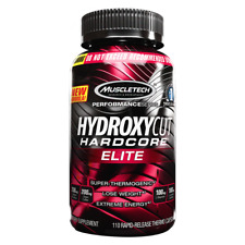 HYDROXYCUT HARDCORE ELITE 110 CAPS STRONG Fat Burner USA Capsules
