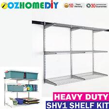 Kenovo DURATRAX Shv1 Garage Home Garden Storage Shelving 1220mm 3 Shelves