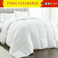 Luxury Supersoft Goose Down Alternative Comforter All Season All Sizes 13 Colors
