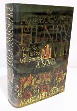 THE AUTOBIOGRAPHY OF HENRY V111 A Novel by MARGARET GEORGE HCDJ - SIGNED COPY