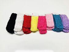 Crochet Headband With 1.5 inch Acrylic Wholesale (48 pcs).