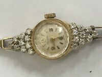 Croton 14k Ladies Diamond Watch Paul Du Pree