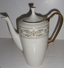 Vintage Lenox Noblesse Coffee Pot, Early Hard To Find Shape