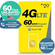USA 60Day UNLIMITED DATA TEXT TALK Venezuela America Travel Prepaid SIM Card 2GB
