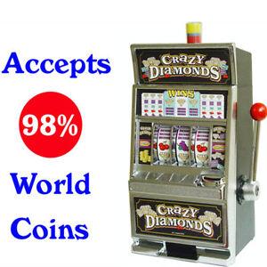 Casino Slot Machine Jackpot Saving Bank Box Model 740