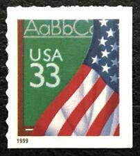 1999 Scott #3283 - 33¢ - FLAG OVER CHALKBOARD - Booklet Single Mint NH