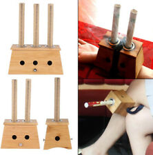 Bamboo Porous Moxibustion Box Moxa Household Health Heating Therapy 多孔竹制艾灸工具艾灸盒