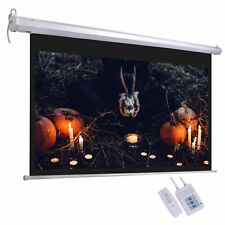 100 Electric Projector Screen 169 Remote Control Movie Film Theater Projection