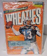 WHEATIES 1995 DAN MARINO Record Breaker MIAMI DOLPHINS CEREAL BOX